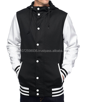 New Design College Baseball Varsity Jackets / Plain Color Varsity ...