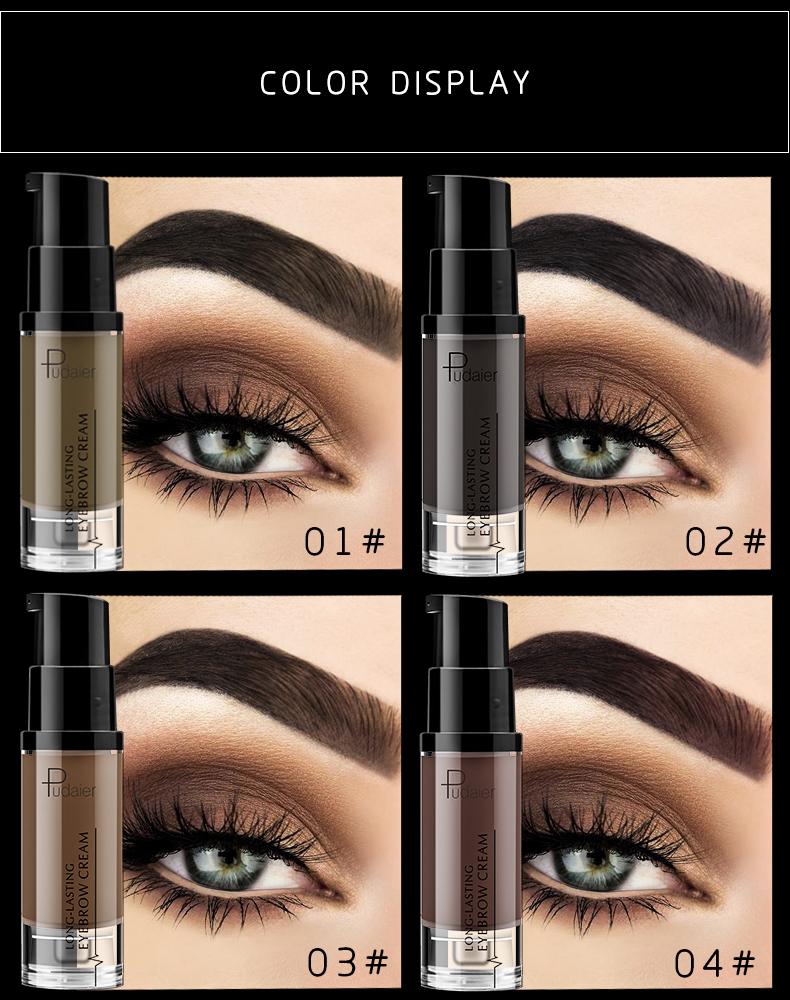 6 Color 24 Hours Eyebrow Gel Eyebrow Tint - Buy Eyebrow ...