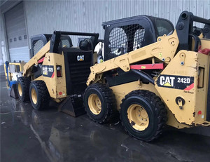 Caterpillar 242B/252B/262B Skid steer front loader/cat akid steer with good  condition