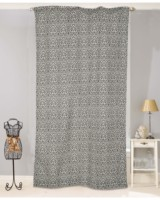 POLYESTER PRINTED POLE POCKET CURTAINS