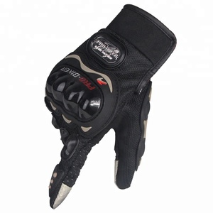 sports riding Leather Motorcycle Powersports Racing pro biker motorbike gloves