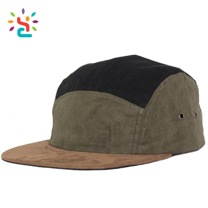 a29c5aa6 Distressed dad cap suede hats two tone 5 panel cheap wholesale suede blank  strap back fitted