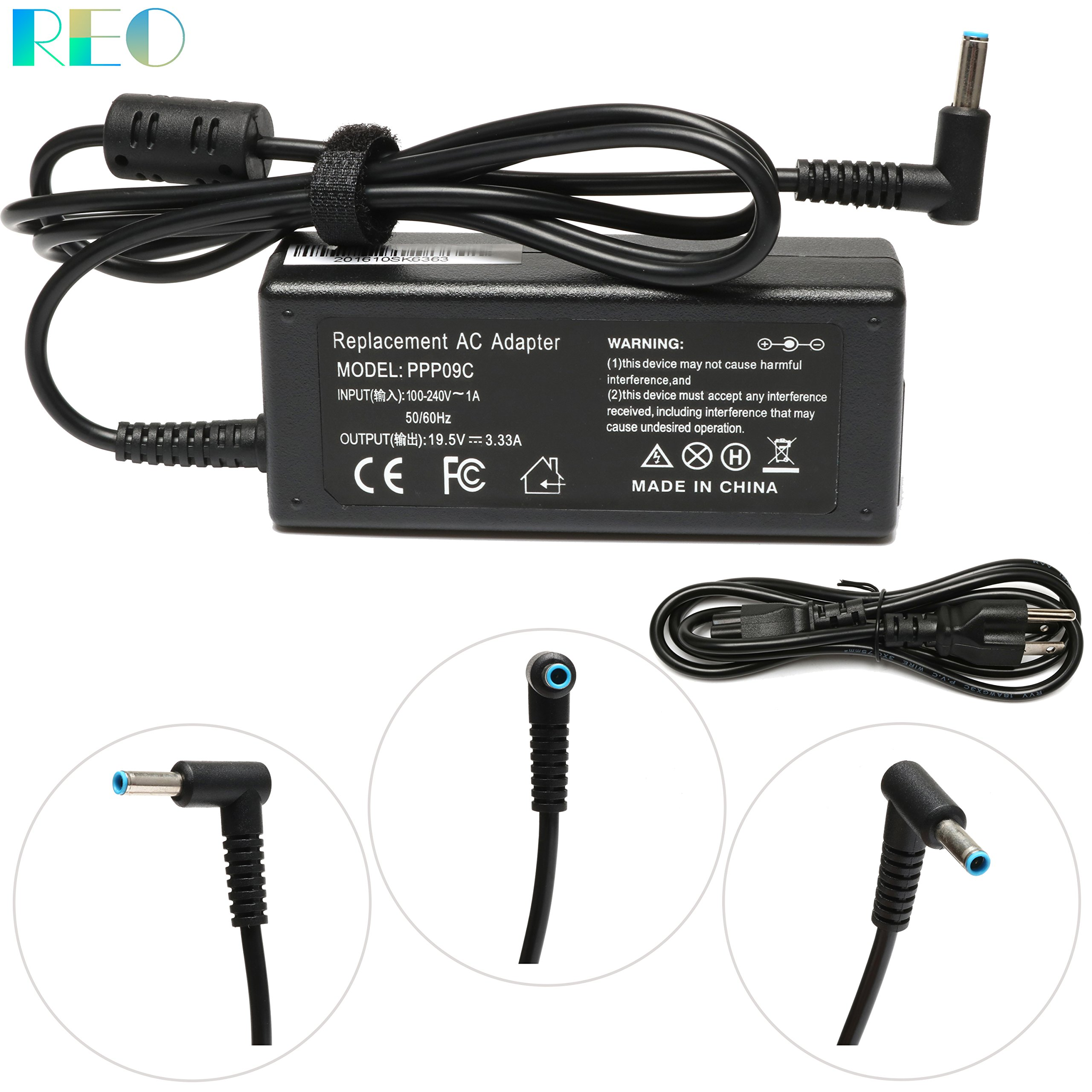 New 65W AC Charger For HP Elitebook 840-G4 820-G4 850-G4;ProBook 430-G4 440-G4 450-G4 455-G4 470-G4 Laptop Power Adapter Supply Cord