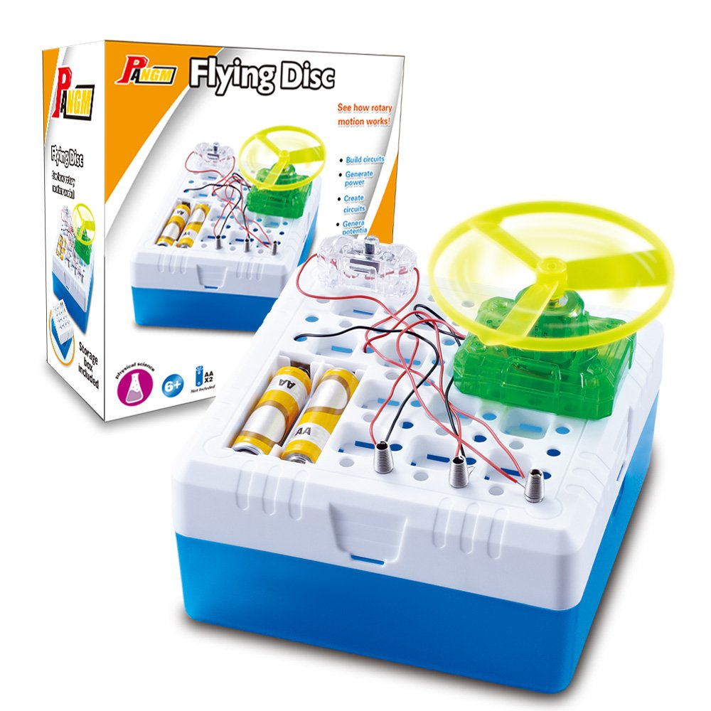 Ufo Energy Ball Electricity Conductivity Science Project Toy Snap Circuits Sound Kit Image One Xumpcom Get Quotations Physics Kits For Kids Diy Electronic Discovery Magical