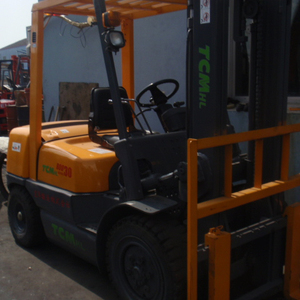 japan made forklift used tcm 3ton automatic forklift for hot sale