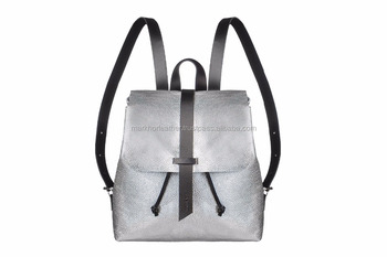 Wholesale Leather Mini Backpack  Silver Leather Backpack  Leather Tote Bag  Women  Bag  5361e783fb