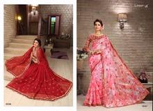 Kangna Lifestyle Cotton Work saree sari Indian Wear saree