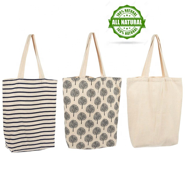 Reusable grocery ผู้หญิง tote กระเป๋าพับกระเป๋าผ้าฝ้าย eco friendly tote กระเป๋า