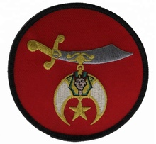 <span class=keywords><strong>Maçonnique</strong></span> Mason Shriner <span class=keywords><strong>Épée</strong></span> Patch