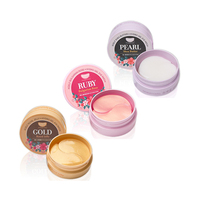 [KOELF] Hydrogel Eye Patch #Ruby & Bulgarian Rose #Pearl & Shea Butter #Gold & Royal Jelly - 1pack (60pcs)