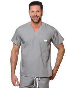 Fitted Design male Medical Uniform Scrubs suit, Cotton scrub suit for men