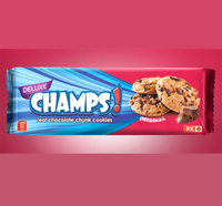 Best Quality Crunchy Champs Real Chocolate Chip/Chunk Cookies