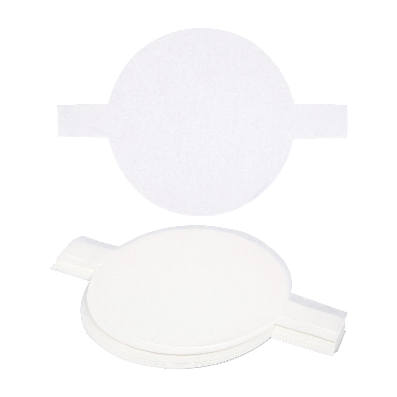 Parchment Paper Rounds - 100-Count 9 Inch Parchment Rounds, Round Parchment Paper for Baking, Precut Circle Cake Pan Liners with Easy Lift Tabs, Non-Stick, White