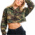 crop top  women hoodies wholesale bulk crop tops