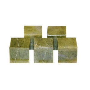 Green Vasonite stone Wholesaler Cubes