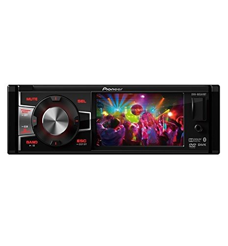 "Pioneer DVH-885AVBT Single DIN Bluetooth In-Dash DVD/CD/AM/FM/Digital Media Car Stereo Receiver w/ 3.5"" TFT Display"