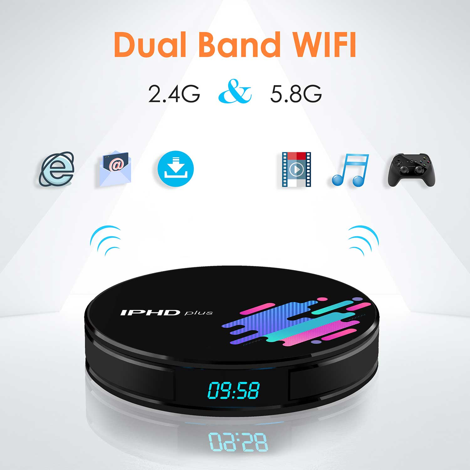 2019 New Arrival Android TV box  New CPU chipset Factory New S905X2 Android tv box IPHD plus DDR4 2GB 16GB set top box