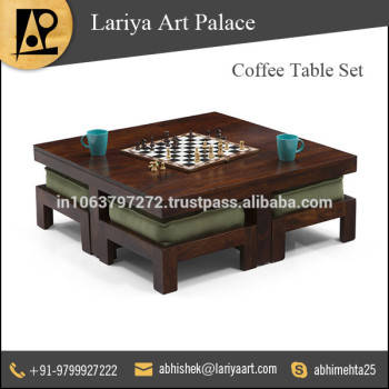 Mango Wood Coffee Table Set At Low Market Price - Buy Wood Coffee ...