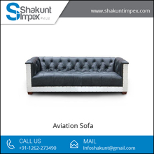 Highly Comfortable Living Room Aviation Sofa for Sale