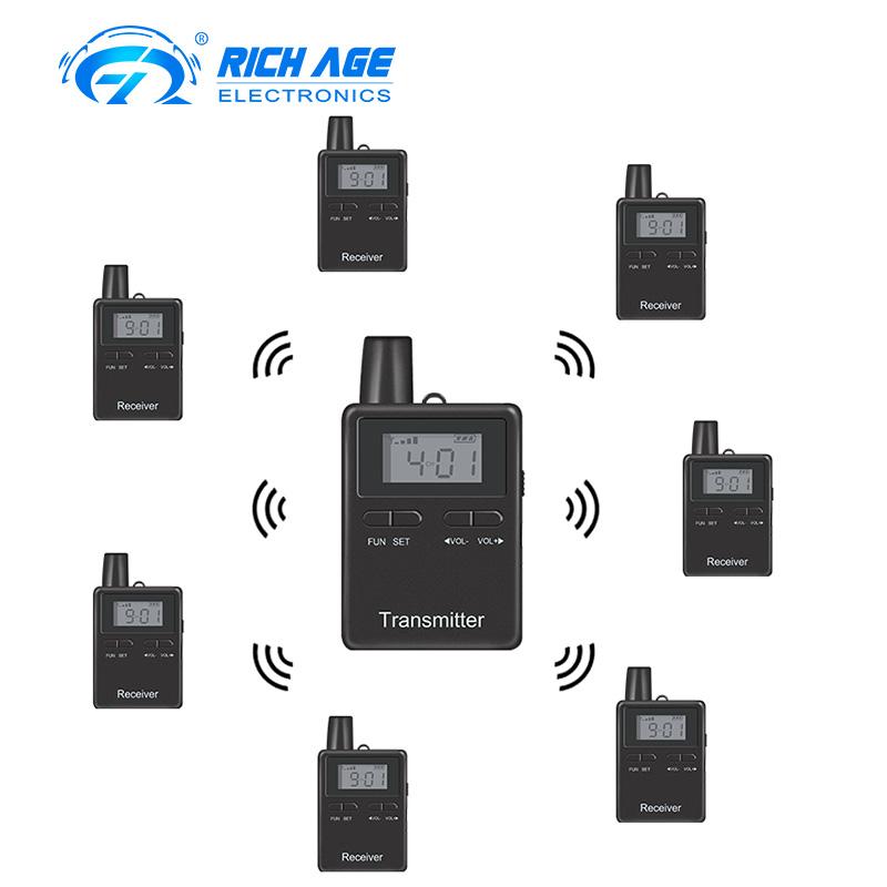portable radio transmitter simultaneous translation interpretation  conference system