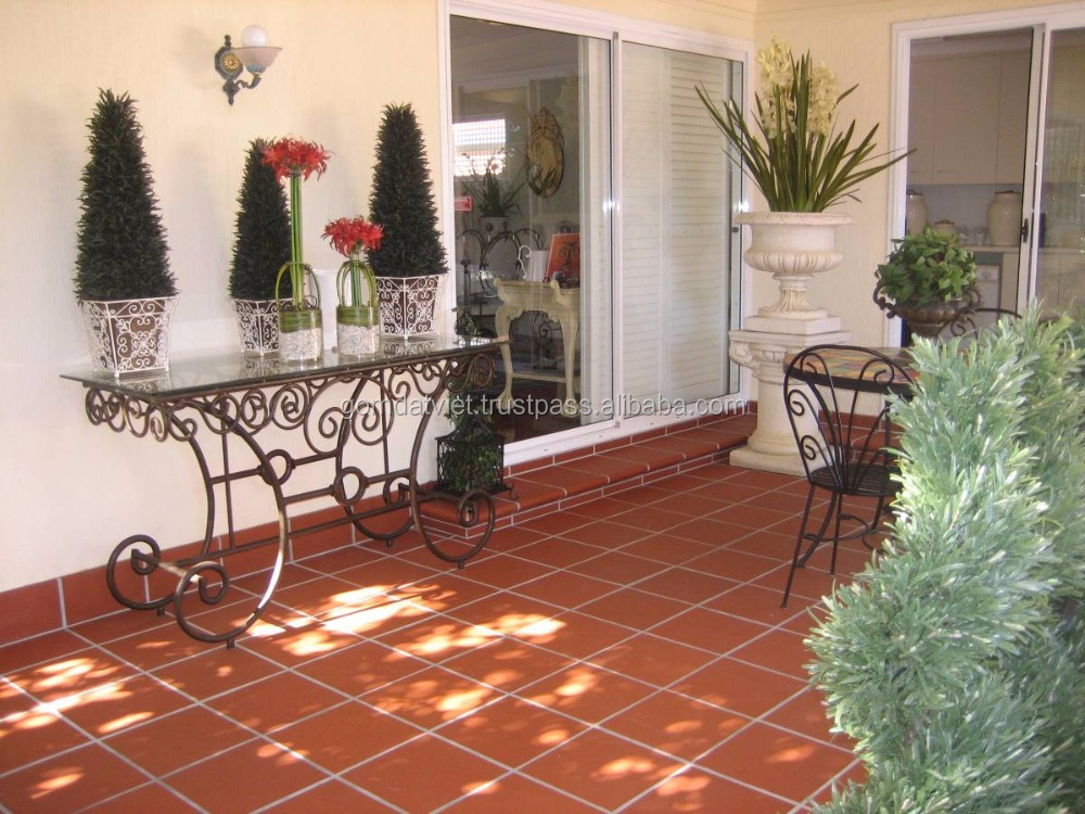 Terracotta floor tile, terracotta garden tile with cheap price