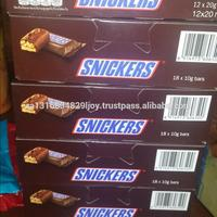 SNICKERS Chocolate, Singles Size Chocolate Candy Bars 1.86-Ounce Bar 48-Count Box