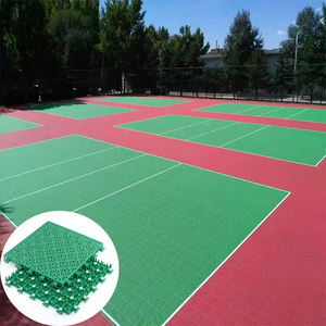 Cheap pp used qualified volleyball courts polypropylene sport flooring