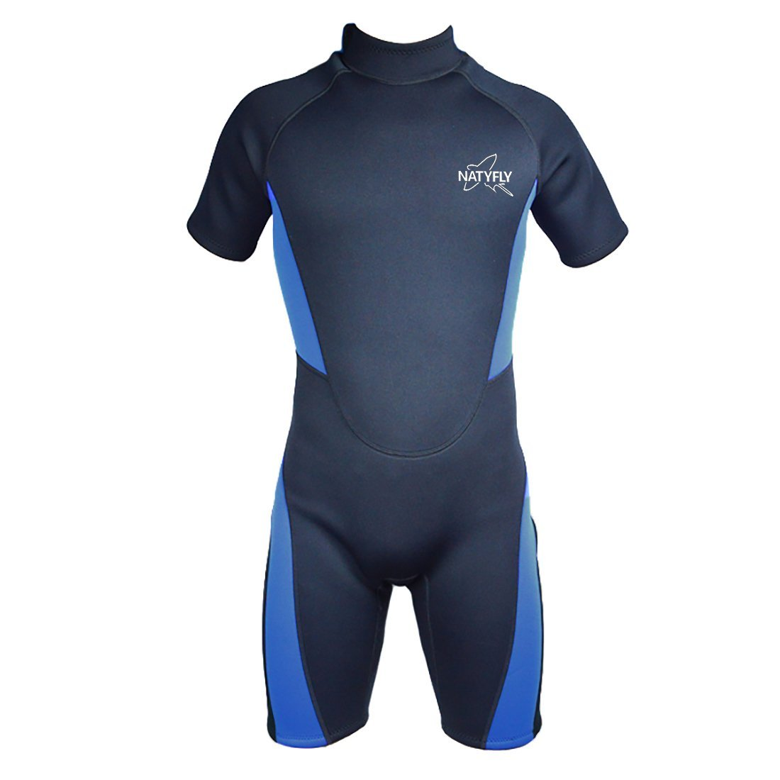 Get Quotations · NATYFLY Wetsuit Men 3mm Neoprene Shorty Surfing Wetsuits  for Women 0ca77483f
