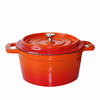 WHOLESALE GOOD QUALITY NON-STICK CAST IRON COCOTTE WITH LID