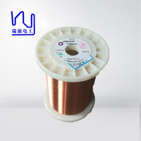 Super fine 0.05mm hot wind self adhesive enameled round copper wire