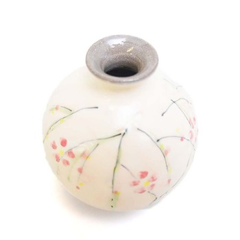 Hot Sale Handmade Mini Flower Vase Painting Designs Clay Made In