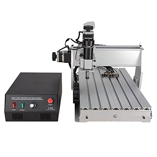 CNC 3040 Z-DQ 3-axis CNC Router Engraver Ball Screw Cutting Milling Drilling Engraving Machine Mimi CNC 3040 500W USB Control