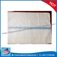 Made in Vietnam pp woven bags for rice, grain, flour, cocoa, coffee, bean packaging