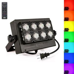 SANSI 50W led landscape flood light led wall washer light waterproof color flood light with remote control