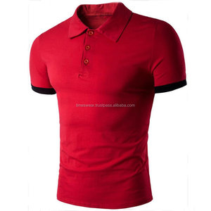 Men's High Quality Slim Fit Short Sleeve Polo Shirts Sport Golf T Shirt Casual Tops