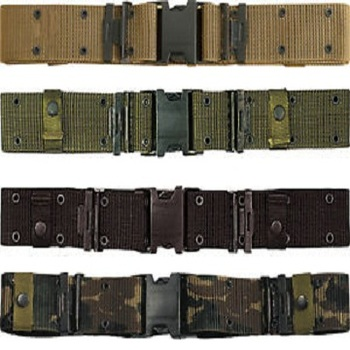Prevent Allergy Nylon Strap Military Belt With Plastic Smooth Buckle - Buy  Prevent Allergy Nylon Strap Military Belt With Plastic Smooth