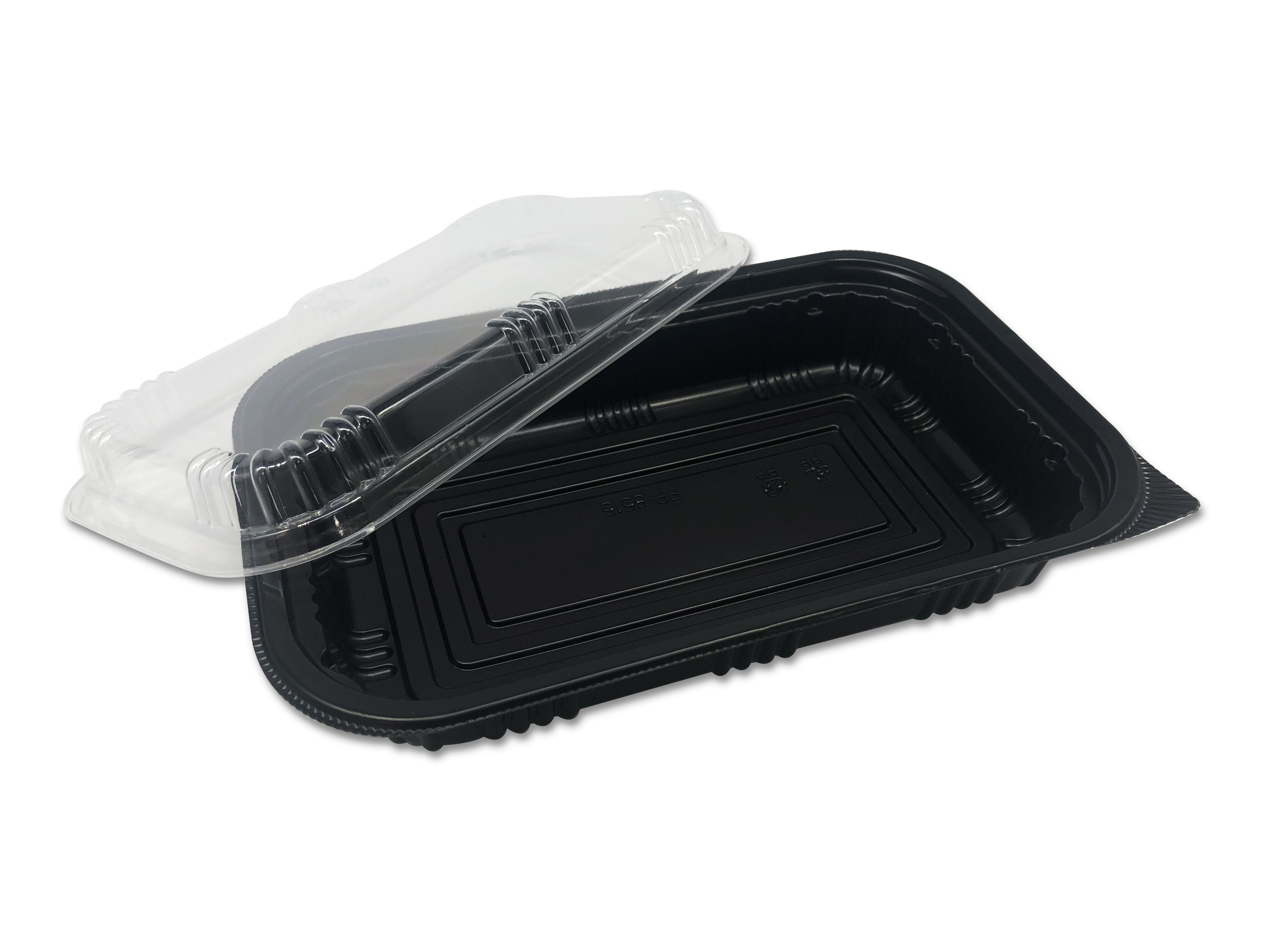 Chinese disposable clear plastic food storage box for packaging