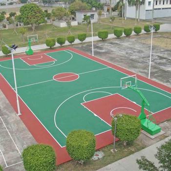 Wgm 9212 Acryl Aussenboden Lack Epoxy Farbe Boden Basketballplatz