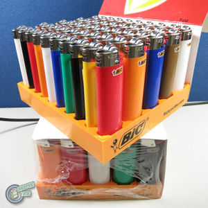 24X Full Size Classic Big BIC Cigarette Lighters Mix Color Multipurpose Outdoor