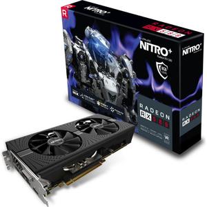 Sapphire Radeon NITRO + Rx 480 / Rx 470/Rx 580/ Rx 570 8GB GDDR5 Dual  /DVI-D /Dual