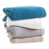 Home Decor Cotton Woven Bed Blankets For Winter