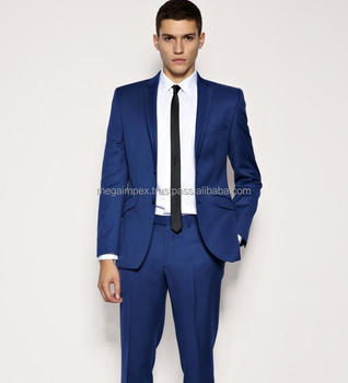 High Quality Men's Suits In Blue Colour For Sale - Buy High ...