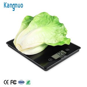 Durable And Comfortable Balance Pet Table Food Scale Digital Touch LCD Kitchen Scale