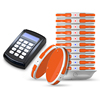 Restaurant wireless queue calling equipment vibrating pager system coaster guest pager