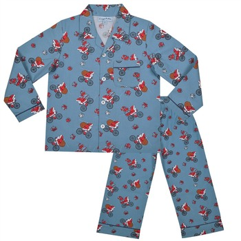 d53b7a7b1a1c Crayonflakes Kids Wear For Boys Printed Night Suit Sleep Set Blue ...