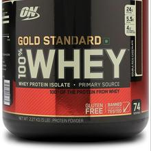 Optimum Nutrition (ON) Gold Standard 100% Whey Protein Powder for sale