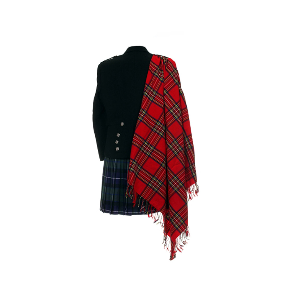 Royal Stewart Tartan Fly Plaid Voor Clan Pijp Bands