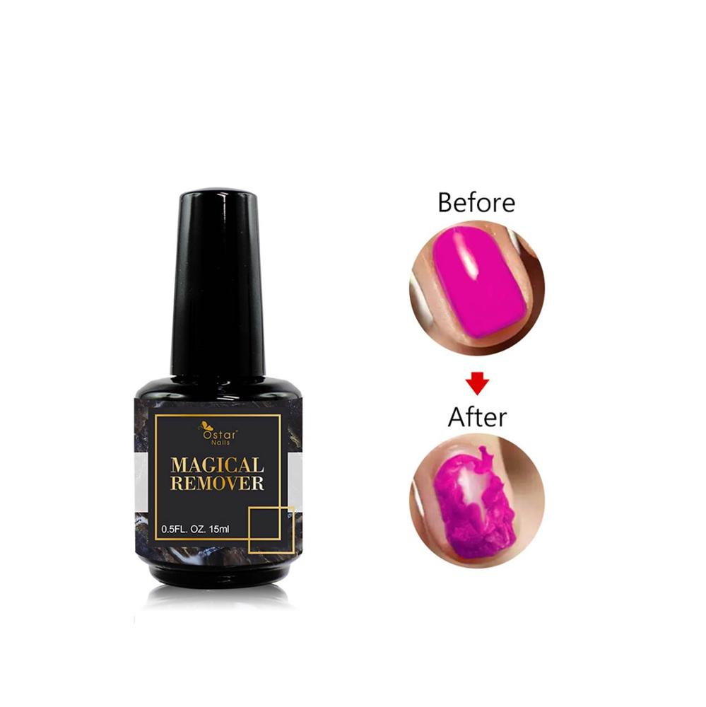 Magic Magical Remover <strong>Gel</strong> For UV <strong>Gel</strong> Nail Polish 2019 New Product Automatic Peel Off Manicure