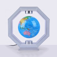 Most attractive illuminated floating levitating World Globe With LED lights 2018 new products ideas best Christmas gift for kids