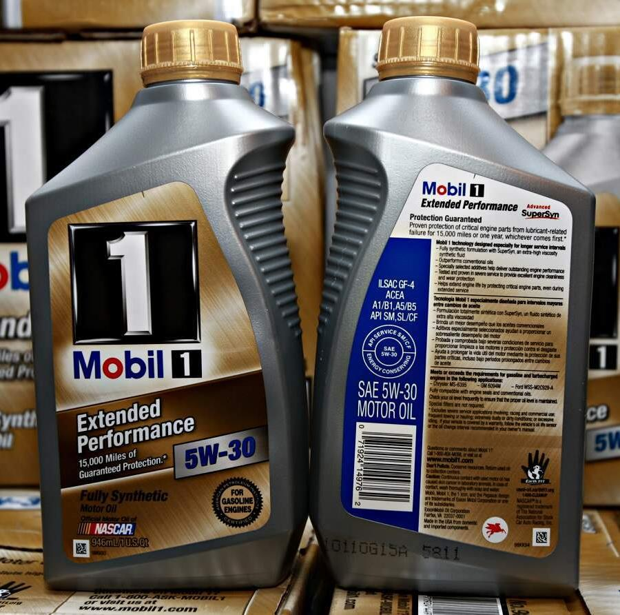 Engine oil Fully Synthetic Mobil 1 New Life 0W40 4 Liter bottle (case with 4 pieces)